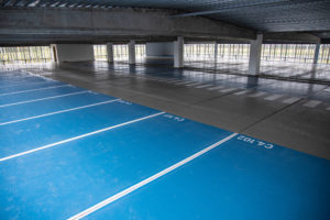 Optegnede parkeringspladser Coniproof PPC SL